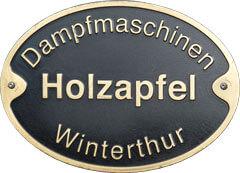 Dampfmaschinen Holzapfel Winterthur